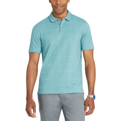 Van Heusen Short Sleeve Flex Natural Stretch Polo Shirt