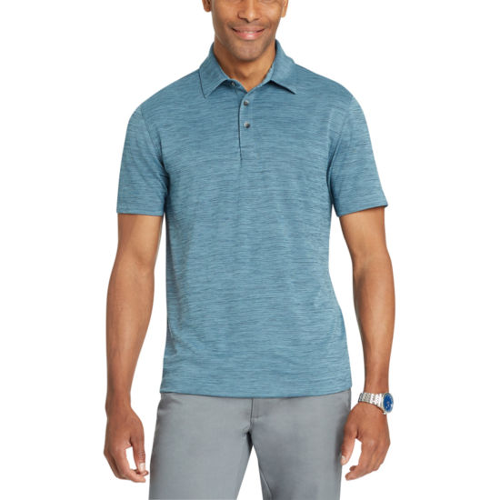 Van Heusen Short Sleeve Knit Polo Shirt