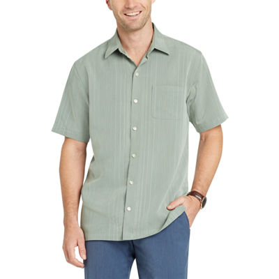 Van Heusen Short Sleeve Stripe Button-Front Shirt