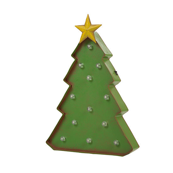 Glitzhome Holiday Tree Marquee Lights