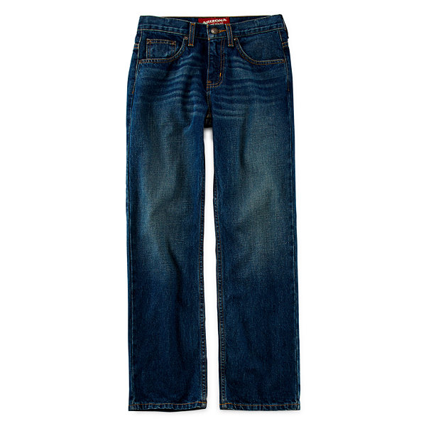Arizona Relaxed-Fit Jeans - Boys 4-20, Slim and Husky