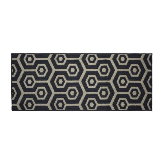 Jean Pierre All Loop Honeycomb Decorative Textured Rectangular Accent Rug