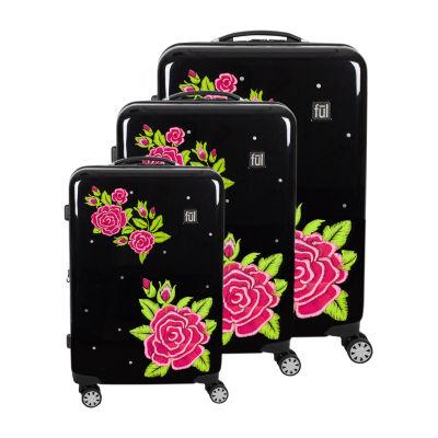 Ful Rose 3-pc. Hardside Lightweight Luggage Set