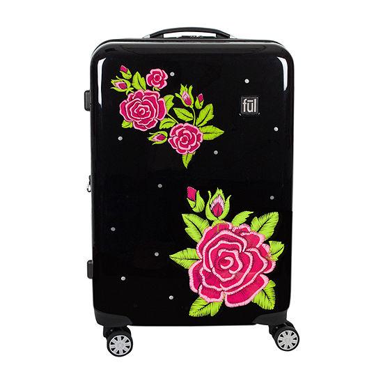 "Ful Rose Hardside Lightweight 21"" Luggage"