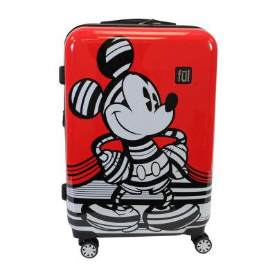 "Ful Disney Mickey Mouse Stripe Lightweight 25"" Luggage"