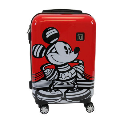 "Ful Disney Mickey Mouse Stripe Lightweight 21"" Luggage"