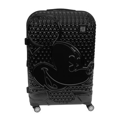 """Fuel Disney Mickey Mouse Textured Lightweight 25"""" Luggage"""