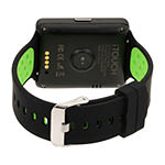Itouch Air 2 Heart Rate Unisex Adult Digital Black Smart Watch-Ita34605u932-339