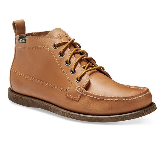 Eastland Mens Seneca Flat Heel Lace-up Chukka Boots