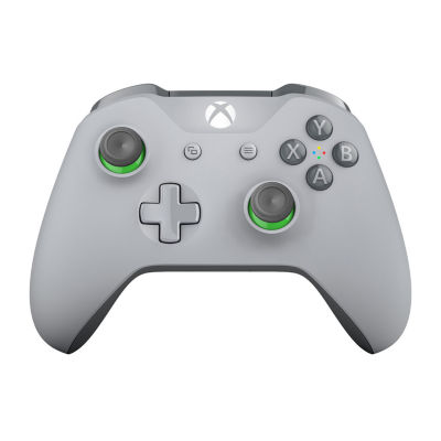 Microsoft Xbox One Wireless Controller - Gray/Green