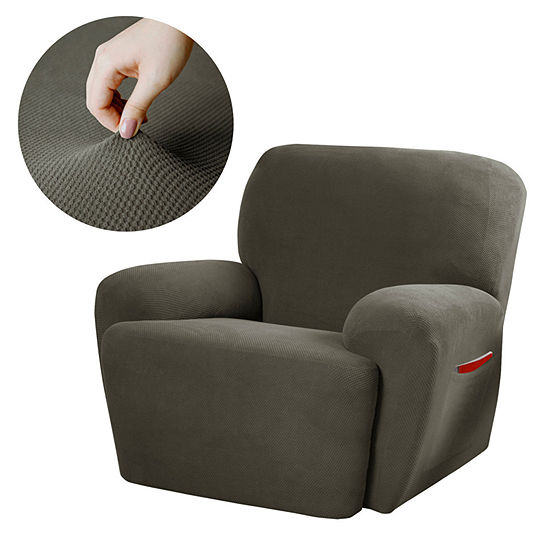 Maytex Smart Cover® Pixel Stretch 4-pc. Recliner Slipcover