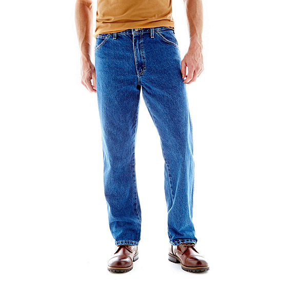Dickies® Regular Straight Fit 5-Pocket Denim JeansDickies® Regular Straight Fit 5-Pocket Denim Jeans