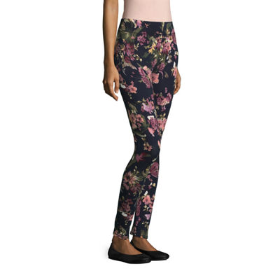 Mixit Tall Knit Print Womens Skinny Legging - Tall