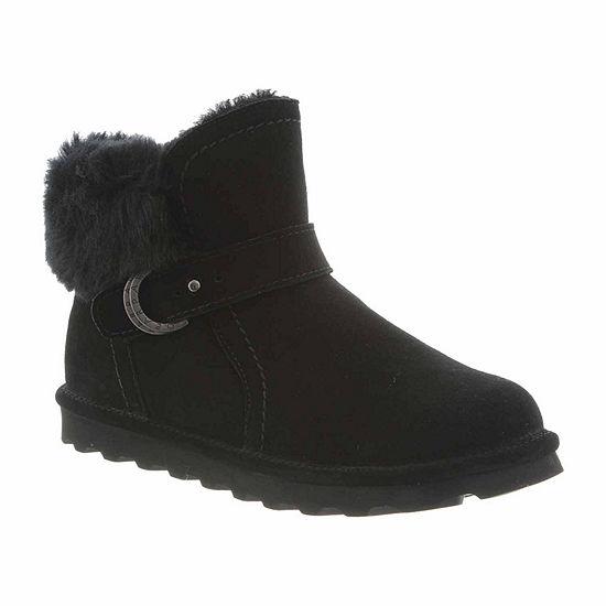 Bearpaw Womens Koko Wide Water Resistant Winter Boots Flat Heel Wide Width