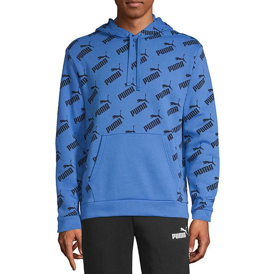 Puma Amplified Mens Hooded Neck Long Sleeve Hoodie