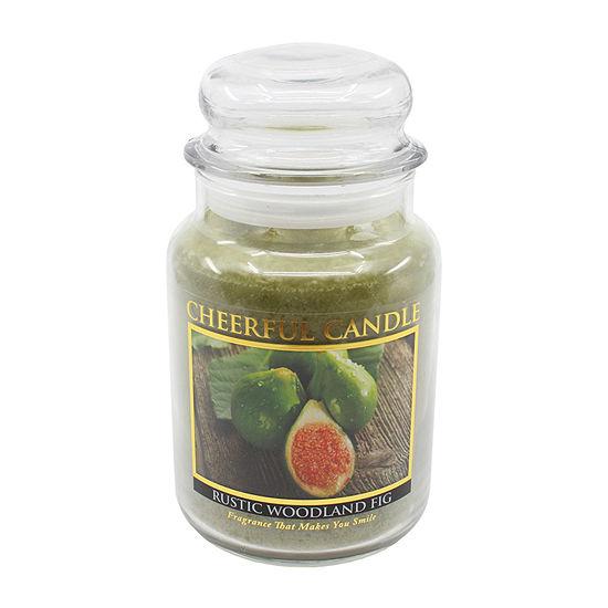 A Cheerful Giver 24oz Rustic Woodland Fig Jar Candle