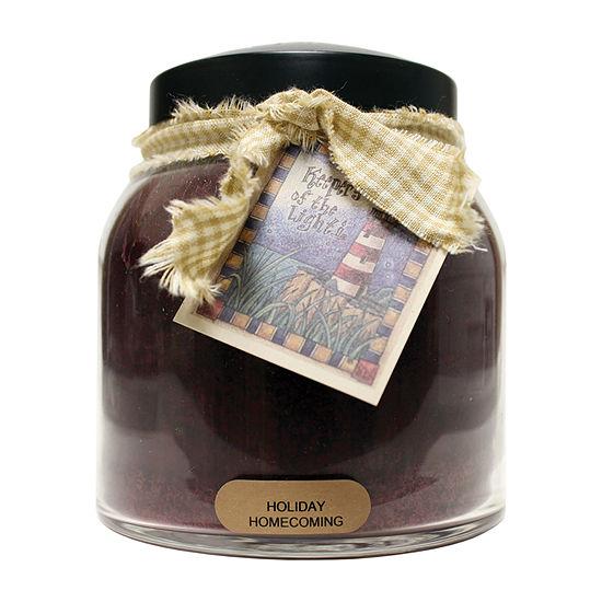 A Cheerful Giver 34oz Papa Holiday Homecoming Jar Candle