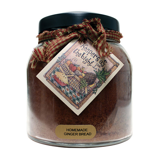 A Cheerful Giver 34oz Papa Homemade Gingerbread Jar Candle