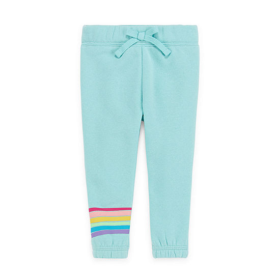 Okie Dokie Baby Girls Cinched Sweatpant