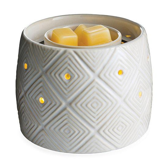 Candle Warmers Etc Geometric Fan Scent Warmer