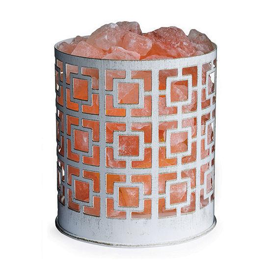 Airome Asha Basket Himalayan Salt Flameless Candle