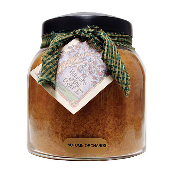 A Cheerful Giver 34oz Papa Autumn Orchards Jar Candle