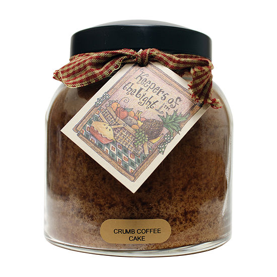 A Cheerful Giver 34oz Papa Crumb Coffee Cake Jar Candle
