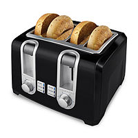 Deals on Black+Decker T4569B 4-Slice Toaster