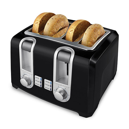 Black+Decker™ T4569B 4-Slice Toaster