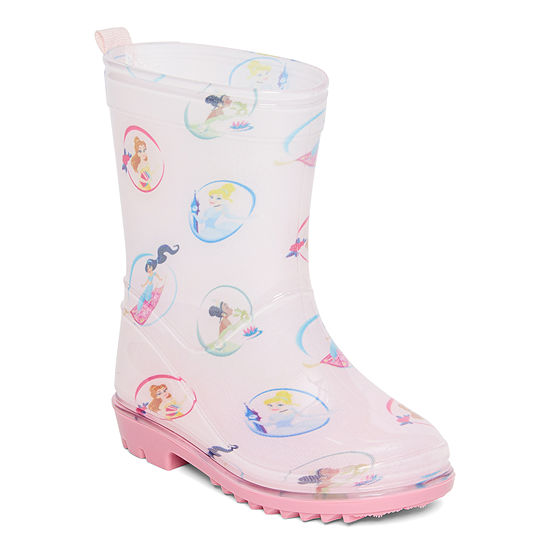 Disney Collection Little Kid/Big Kid-Girls Disney Princess Rain Boots