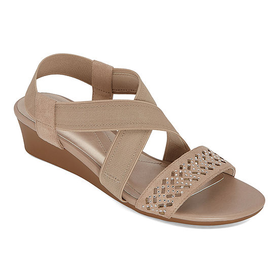 east 5th Womens Greece Wedge Sandals