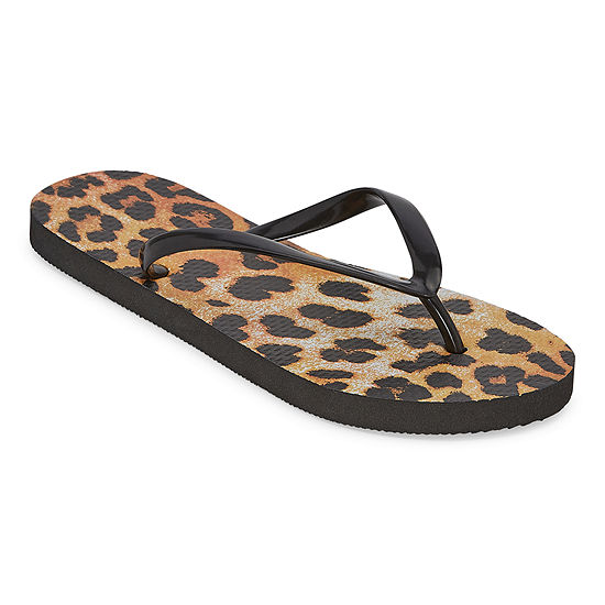 Mixit Womens Printed Flip-Flops