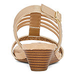 St. John's Bay Womens Nordic Wedge Sandals