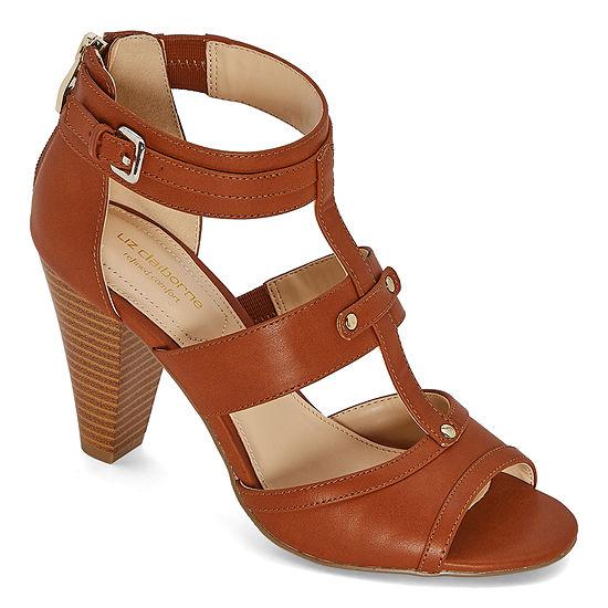 Liz Claiborne Womens Gaby Heeled Sandals