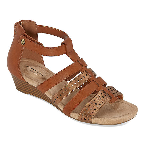 St. John's Bay Womens Nizki Wedge Sandals