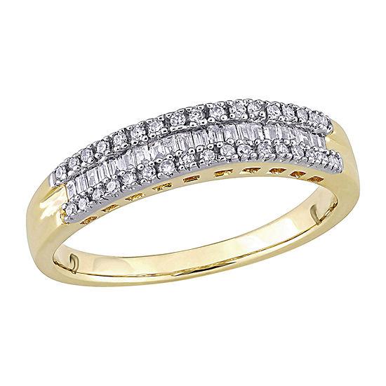 1/4 CT. T.W. Genuine White Diamond 14K Gold Anniversary Band