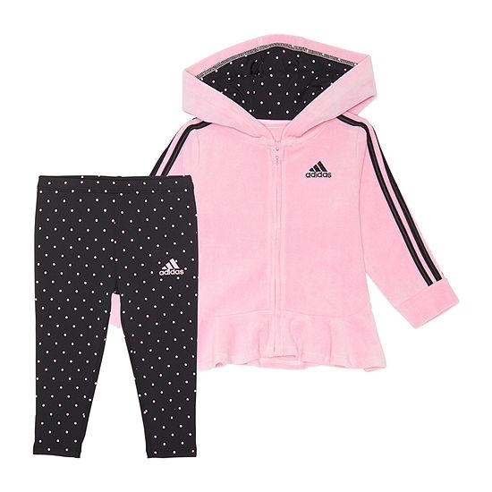 adidas Girls 2-pc. Legging Set-Preschool