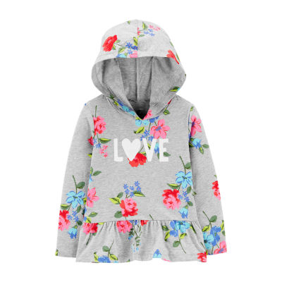 Carter's Girls Hoodie-Toddler