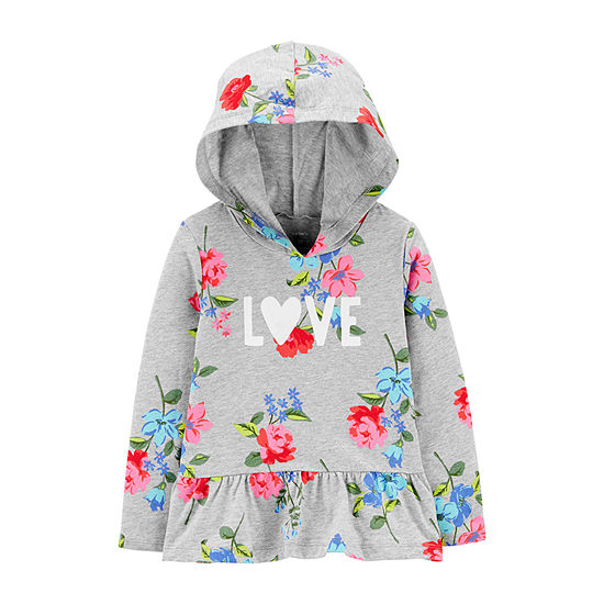 Carter's-Toddler Girls Hoodie