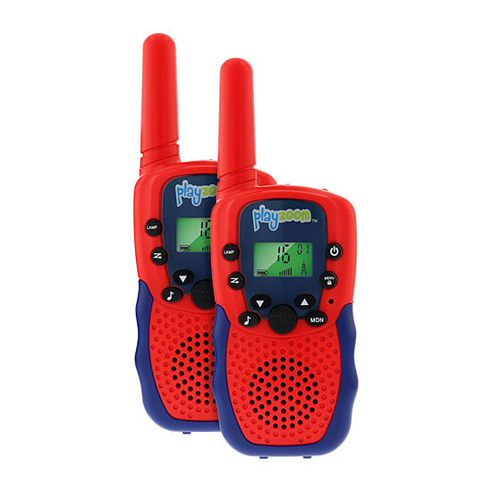Itouch Playzoom Tech Gadgets Red Walkie Talkies, Set of 2