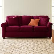 Fabric Possibilities Roll-Arm Sofa