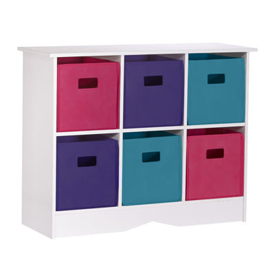 Riverridge Kids 6-Cubby Toy Organizer