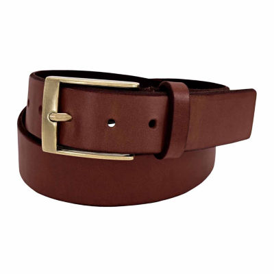 Florsheim 38 Mm Full Grain Leather Casual Solid Belt