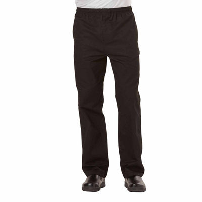 Dickies Traditional Chef Baggy Pant With Zip Fly - Big