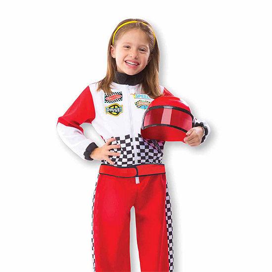 Melissa & Doug Race Car Driver Unisex Costume