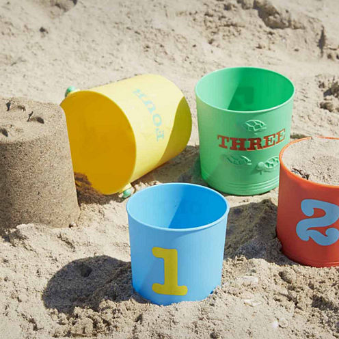 Melissa & Doug® Seaside Sidekicks Nesting Pails