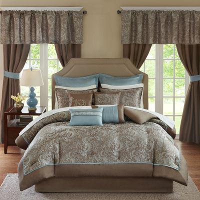 Madison Park Essentials Cadence 24-Pc Comforter Set
