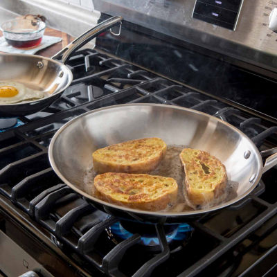 Revere 2-pc. Stainless Steel Frying Pan