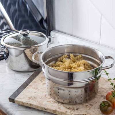 Revere Copper Confidence Core Stainless Steel Pasta Pot