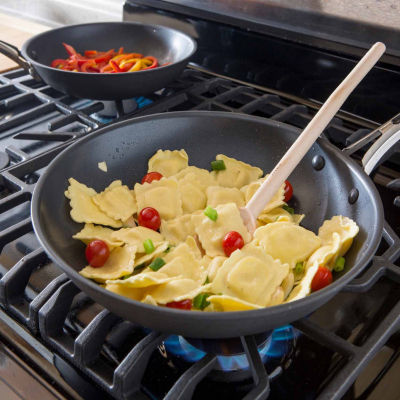 Revere 2-pc. Aluminum Frying Pan